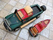 Art Prison Prisoner Solid Wood Carving Land Rover Toy Car Ship Handmade Perfect