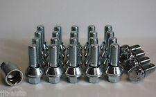 20 x M14 x 1.5 barillet Conversion Boulon De Roue & Verrouillage Ajustement Peugeot 806 BOXER van