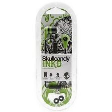 Skullcandy 2.0 INK'D Supreme IN-EAR Earbuds Earphones GREEN - SHIPS FROM USA