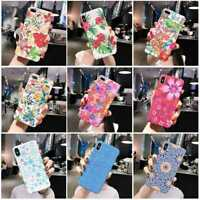 Cute Flower Style Phone Case Protection Cover For iPhone11 6 7 8 Plus Xs X Xr
