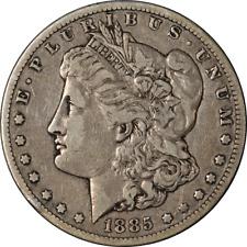 1885-CC Morgan Silver Dollar Choice VF+ Superb Eye Appeal Strong Strike
