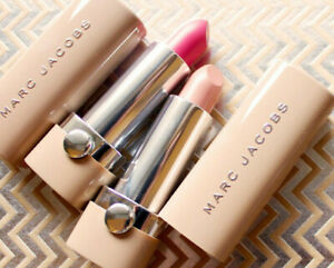 Marc Jacobs new nudes sheer gel lipstick new in box full size 0.12oz