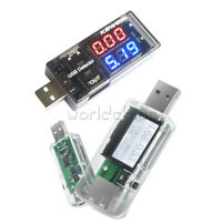 USB Charger Detector Current Voltage Voltmeter Ammeter Digital 7 in 1 LCD Tester