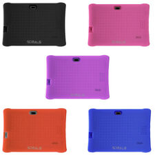 SDEALS Silicone Soft Cover, 7-Inch Tablets with Protective Shockproof for Kids