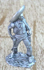 Awesome Tin Figurine Soldier Model Toy 1:32 54 mm USA XIX century Hand made