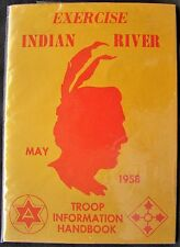 1958 Exercise Indian River Troop Info Handbook- 4th & 6th Inf. Div Ft. Lewis, WA