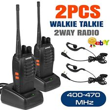 Baofeng BF-888S Walkie Talkie Long Range 2 Way Radio UHF