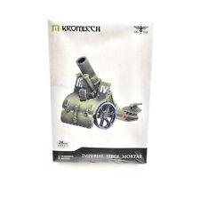 IMPERIAL GUARD Siege mortar cannon alternative 40K NEW Kromlech astra