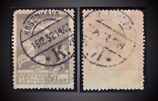 16.12.1932 DENMARK POSTMARK KOBENHAVN K ON AIR POST 50 ORE GRAY SCT. C4 MI. 180