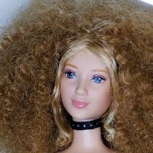 Barbie Mystery Squad Kenzie Doll 2002 Nude for Play Rehab OOAK Original Choker