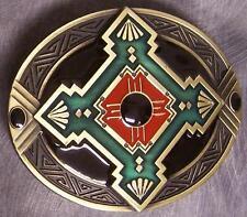 Pewter Belt Buckle novelty Southwest Indian Art NEW