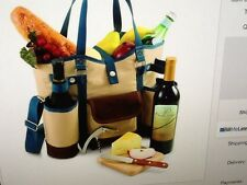 PICNIC TIME TOTE  WINE COUNTRY  NWB COMPLETE SET