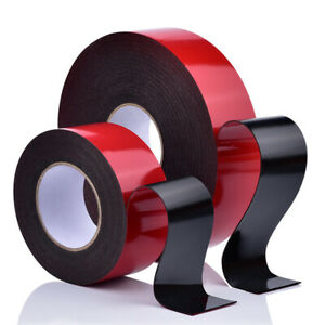5M 10M Double-Sided Mounting Acrylic Foam Tape Adhesive Automotive Seal Crafts