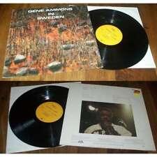 GENE AMMONS - In Sweden LP ORG German Press Enja Jazz Blues