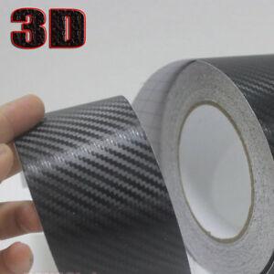 Pellicola adesiva nastro carbonio 3D carbon 50mm x 2 metri decorazione moto auto