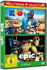 Rio & Epic - 2Filme DVD Box 2011/2014 Neu/OVP Zeichentrick