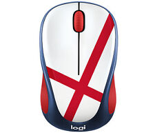 Logitech M238 Wireless Mouse England - Blue/Red/White