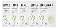 MISSHA (NEW) HERB IN NUDE SHEET MASK (Hydrating Care) 23gx5sheets
