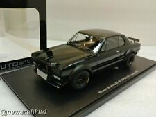 NISSAN SKYLINE GT-R (KPGC-10) RACING 1972 (BLACK) AUTOart MODEL 1/18 #87278