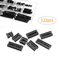 2.54mm IC Socket DIP 6P,8P,14P,16P,18P,24P,28P,40P Pin Chip IC Sockets