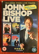 John Bishop Live - Box of Laughs DVD (New and Sealed)