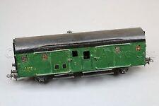 Y467 Rateau Train Ho ? wagon fourgon SNCF vert toit noir 157 mm