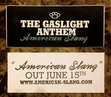 THE GASLIGHT ANTHEM American Slang Discontinued RARE Sticker +FREE Punk Stickers