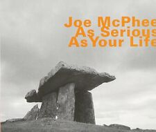 As Serious as Your Life by Joe McPhee (CD, Nov-2014, Hatology)