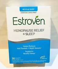 Estroven Nighttime Menopause Relief Sleep Hot Flashes 30 Count *SHIPS NEXT DAY*
