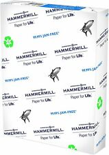 Hammermill Printer Paper Recycled 100% 20#  Ream 8.5x11 Inch White Office Home