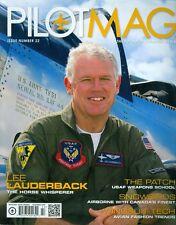 2011 Pilot Mag Magazine: Lee Lauderback/The Patch USAF Weapons School/Wingsuit