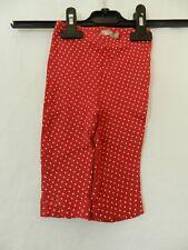 pantalon leggings rouge étoiles Bébé Rêve taille 9 mois tbe (C1562)