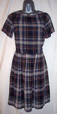 Dorothy Perkins Scoop Neck Checked Dresses for Women