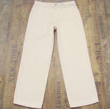 Lange Herrenhosen im Chino-Stil aus Baumwolle mit geradem Bein