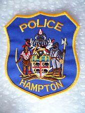 Patch- Hampton VA US Police Patch (NEW*)
