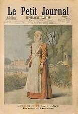 Sophie van Oranje-Nassau Sophie des Pays-Bas NETHERLANDS 1897 ILLUSTRATION
