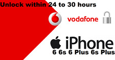 iPhone 6 6s and 6 6s plus VODAFONE UK Factory & Permanent Unlocking -- Unlock