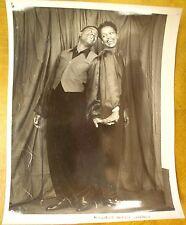 "Black Tap Dance team ~ Original 1940's Promotional 8""x10"" Photograph"