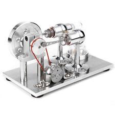 Heißluft Stirling Motor Engine Modell Dampfmaschine Stromerzeuger Lernspielzeug