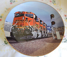 BNSF RAILWAY-10 YEARS AND ROLLING-1995-2005 PLATE 469 OF 45,000 10 1/2""