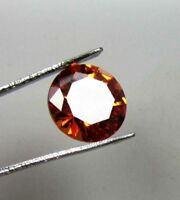 6.80cts. Natural Oval Cut Translucent Loose Cambodian Dark Color Brown Zircon