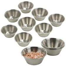 Set Of 12 Small Bowls Made Of Stainless Steel Stackable Metal Serving Bowl Snack