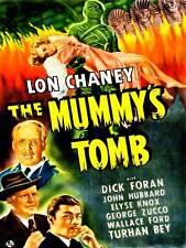 MOVIE FILM Mummy's Tomb HORROR LON CHANEY egyptain USA art print poster cc6424
