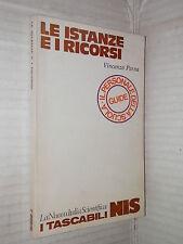 LE ISTANZE E I RICORSI Vincenzo Perna Nuova Italia Scientifica 1979 Tascabili