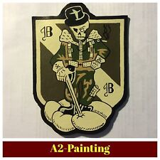 WW2 Hand Painted 5th Bomb Grp Leather Patch For A2 G1 Jacket ( None Aged )