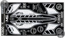 Yamaha FZ800 FZ8 2010 Rear Fairing Number Board Motografix 3D Gel Protector