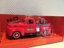 FORD f1 Pick Up' 48+hd Knucklehead'36 Maisto 1:24 NUOVO + OVP 532191