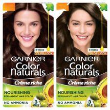 Garnier Naturals Nourishing Permanent Hair Color Creme NoAmonia Silky Shiny Hair