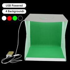 "Portable photo Studio 16/"" X 16/"" X 16/"" Caja de Luz Estudio De Fotografía Tienda de disparo"