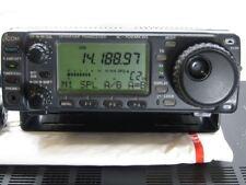 U4296 Used ICOM IC-706 MK II G 100 Watt HF, VHF UHF Ham Radio